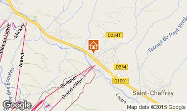 Map Serre Chevalier Chalet 30547