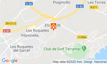Map Barcelona Villa 115621