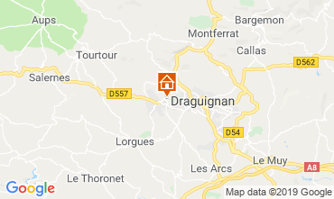 Map Draguignan Villa 98537