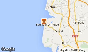 Map Fort Mahon Apartment 10866