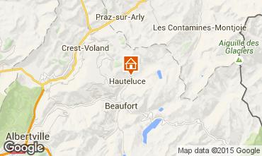 Map Les Saisies Apartment 2727