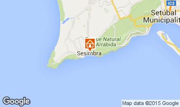 Map Sesimbra Apartment 76805