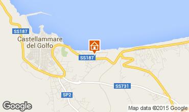 Map Castellammare del Golfo Apartment 67566