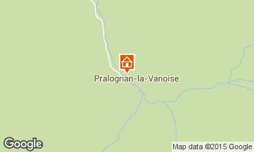 Map Pralognan la Vanoise Apartment 89172
