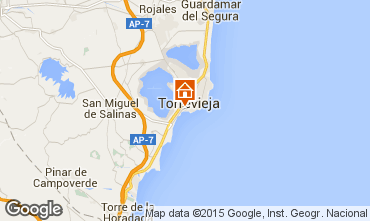 Map Torrevieja Apartment 46400