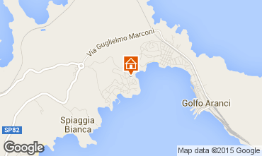 Map Aranci Gulf Apartment 83860
