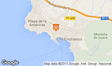Map Los Cristianos Apartment 70136