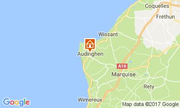 Map Audinghen Villa 109514