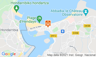 Map Hendaye Apartment 113549