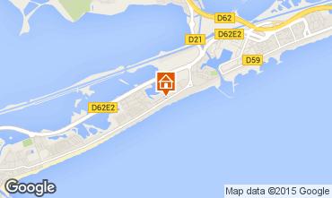 Map Palavas-les-Flots Flat 61465