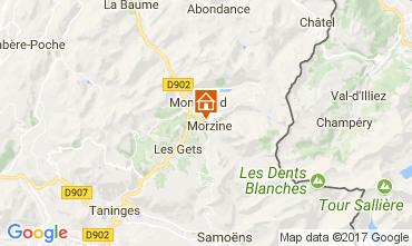 Map Morzine Apartment 112229