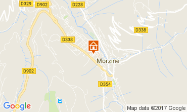 Map Morzine Apartment 112229