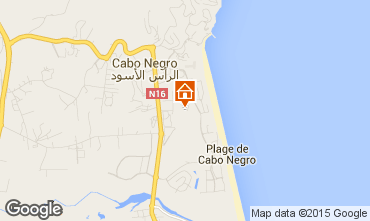 Map Cabo Negro Apartment 9049