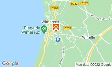 Map Wimereux Apartment 108853