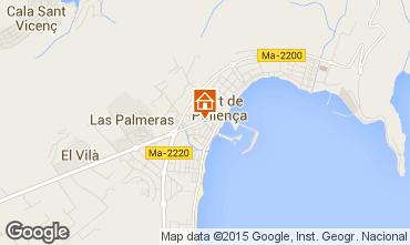 Map Puerto Pollensa Apartment 69561