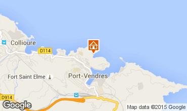 Map Port Vendres Apartment 76273