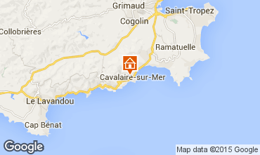 Map Cavalaire-sur-Mer Apartment 76631