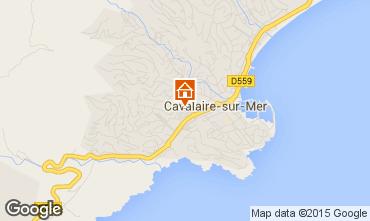 Map Cavalaire-sur-Mer Apartment 76631