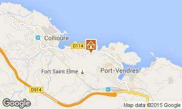 Map Collioure Flat 84733