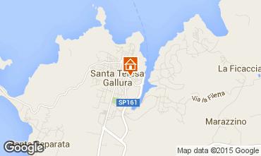 Map Santa Teresa di Gallura Apartment 98963