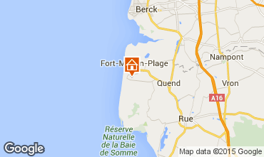 Map Quend Plage Mobile home 95348