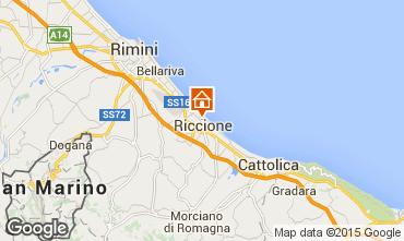 Map Riccione Apartment 17943