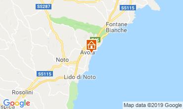 Map Avola Offbeat accommodation 109962