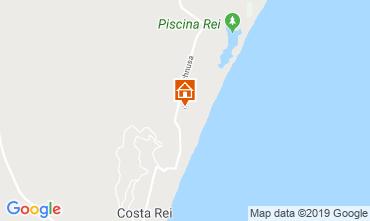 Map Costa Rei Apartment 119571