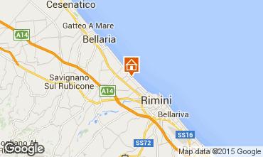 Map Rimini Apartment 92548