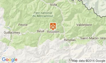Map Valberg Self-catering property 92280