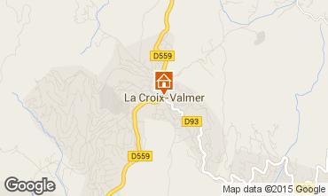 Map La Croix Valmer Villa 62547