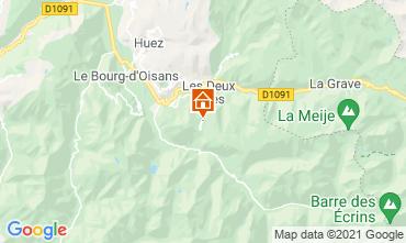 Map Les 2 Alpes Apartment 1219
