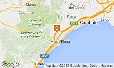 Map Miami Playa Villa 23136