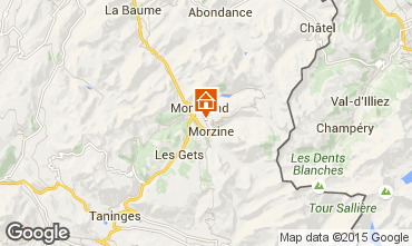 Map Morzine Apartment 1957