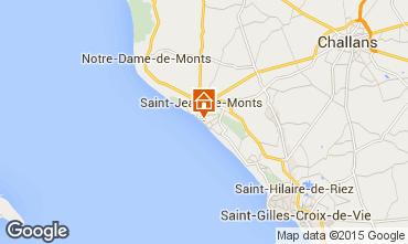 Map Saint Jean de Monts Apartment 50925