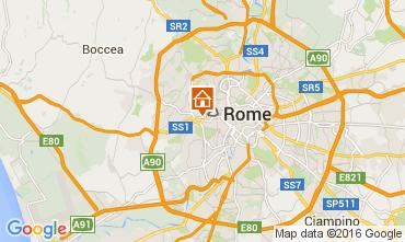 Map Rome Apartment 66395