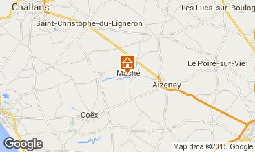 Map Saint-Gilles-Croix-de-Vie House 68208