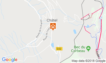 Map Châtel Chalet 799