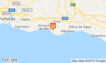 Map Albufeira Apartment 77799