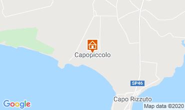 Map Isola di Capo Rizzuto Apartment 72903