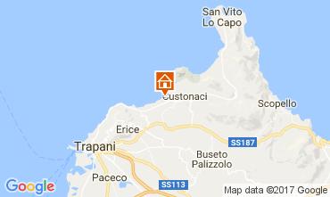 Map Trapani Apartment 68813