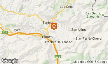 Map Les Carroz d'Araches Chalet 642
