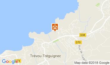 Map Perros-Guirec Apartment 7414