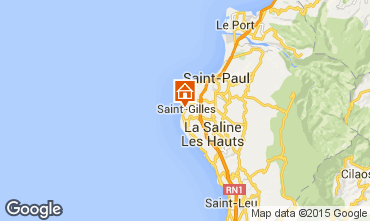 Map Saint Gilles Studio apartment 97488