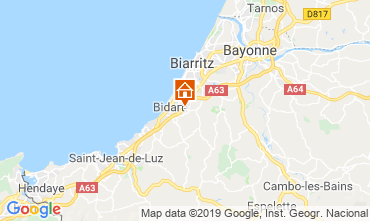 Map Biarritz Mobile home 118055