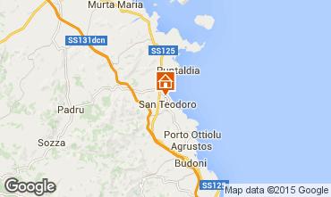 Map San Teodoro Villa 95262