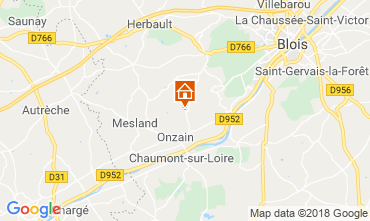 Map Blois Mobile home 117293