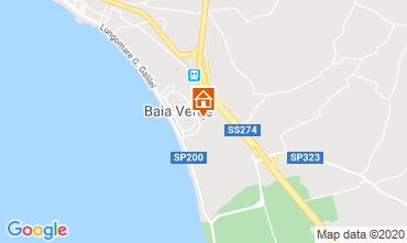 Map Gallipoli Studio apartment 111072
