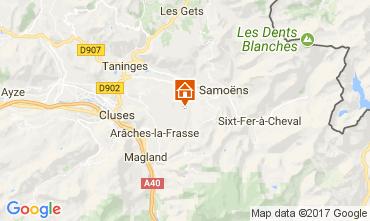 Map Morillon Grand Massif Apartment 38667