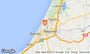 Map Anglet Apartment 69644